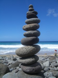 Stablede sten