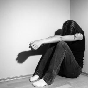 pige med depression