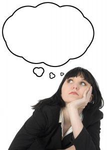Kvinder der tænker